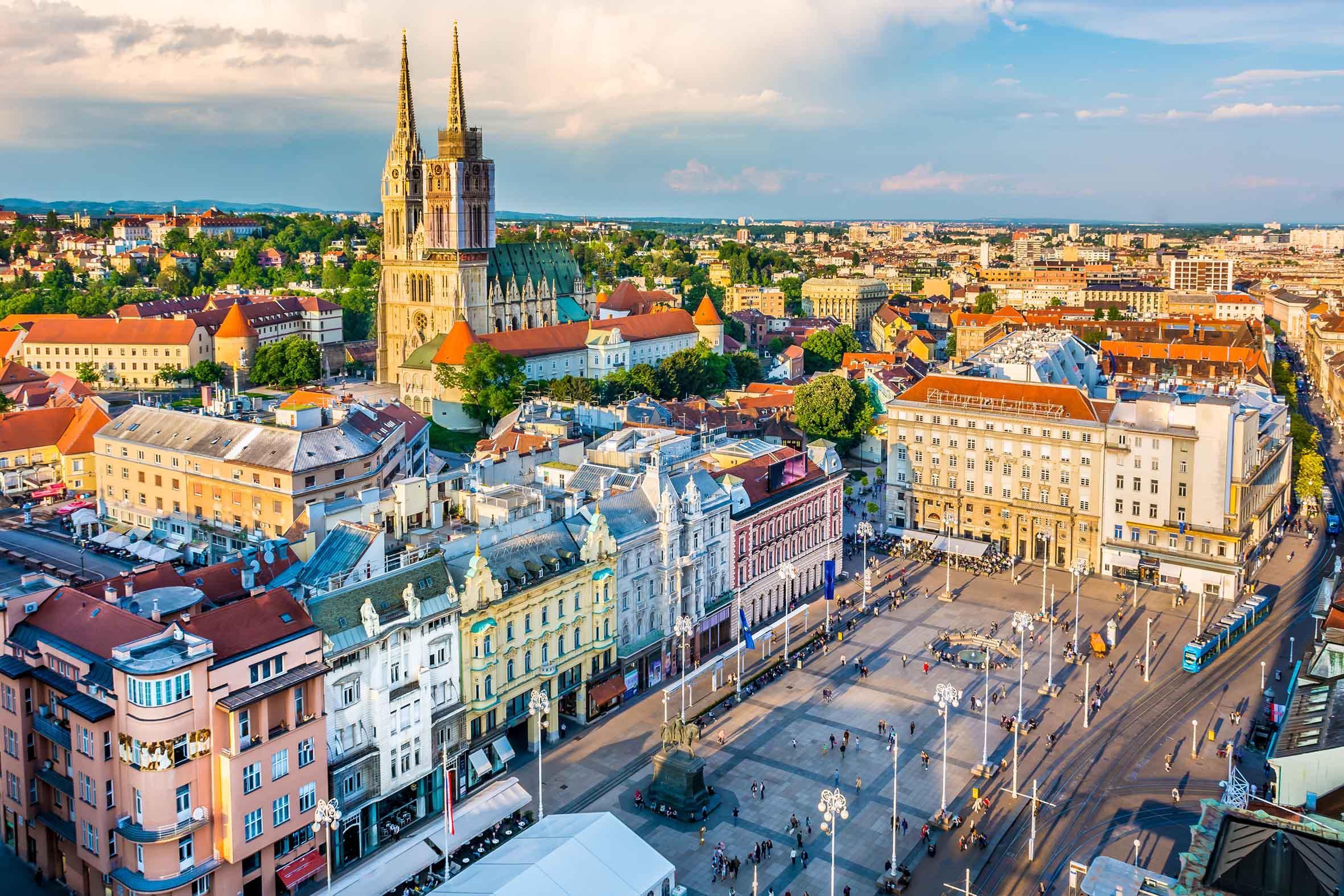 Croatia, Zagreb, Europe